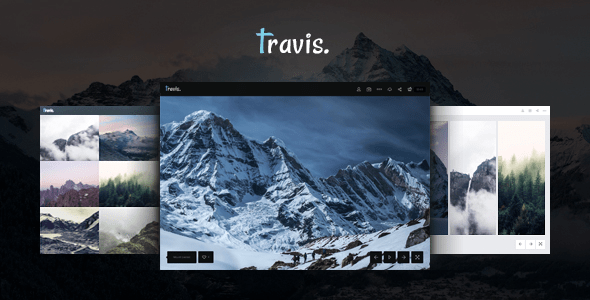 Download Photography | Travis Photography Gallery WordPress Themes 2017