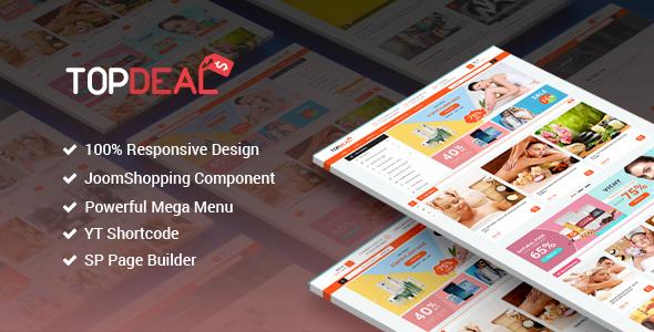 Download TopDeal - Responsive Multipurpose Deal, eCommerce Joomla Template Ecommerce Joomla Templates
