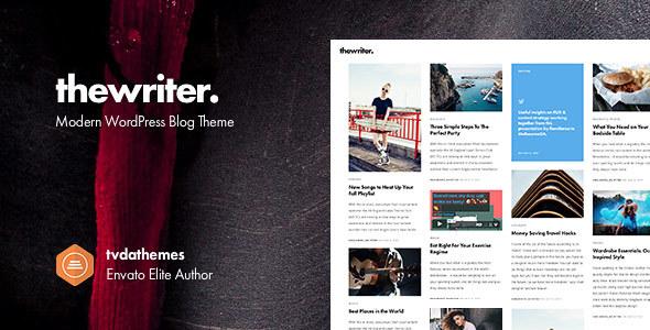 Download The Writer - Modern WordPress Blog Theme Modern WordPress Themes