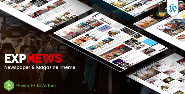 Download ExpNews - Responsive Newspaper and Magazine WordPress Theme Newspaper WordPress Themes