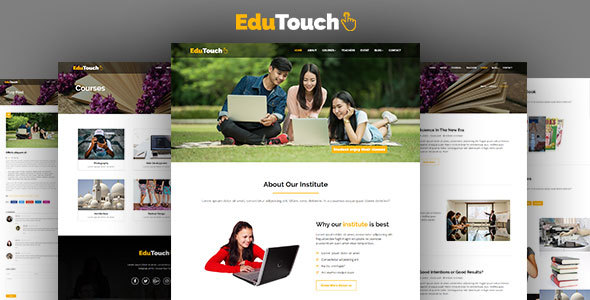 Download EduTouch - Education Responsive Template University Html Templates