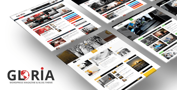 Download Gloria - Responsive eCommerce News Magazine Newspaper WordPress Theme Newspaper WordPress Themes
