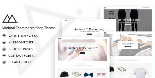 Download Mira - Minimalist WooCommerce WordPress Theme Minimalist WordPress Themes