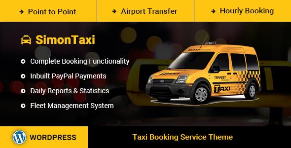 Download SimonTaxi - Taxi Booking WordPress Theme Youtube WordPress Themes