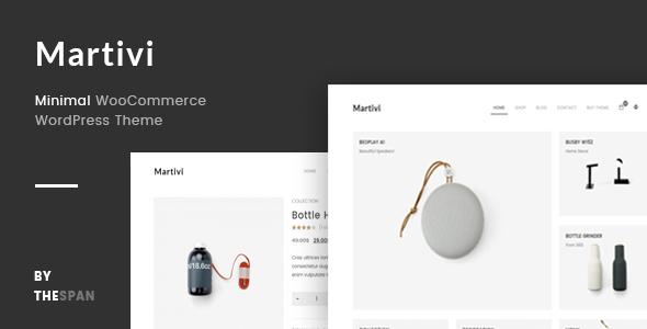 Download Martivi - Minimal WooCommerce WordPress Theme Youtube WordPress Themes