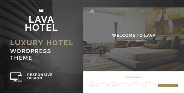 Download Lava - Luxury Hotel WordPress Theme Hotel WordPress Themes