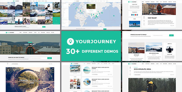 Download Your Journey - Travel Blog WordPress Theme Travel WordPress Themes