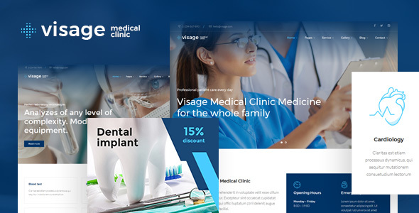 Download Visage | Medical & Health WordPress Theme Health WordPress Themes