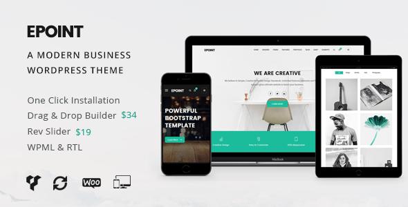Download Epoint | A Modern Business WordPress Theme Modern WordPress Themes