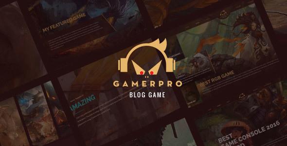 Download GAMERPRO - Fantastic Blog WordPress theme for GAME SITES Game WordPress Themes