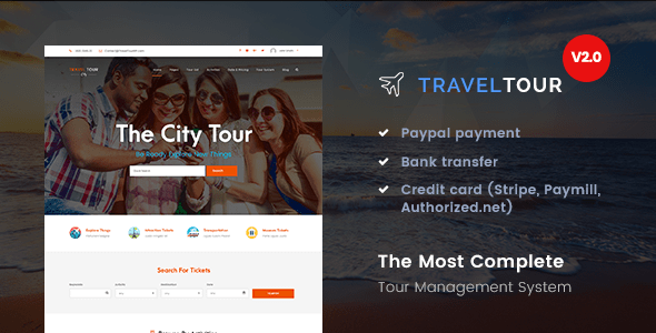 Download Travel Tour - Tour Booking, Travel WordPress Theme Travel WordPress Themes