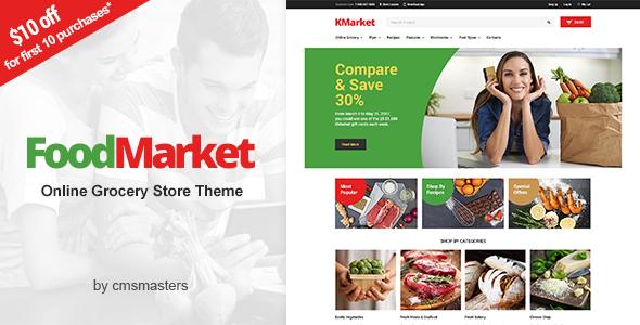 Download Food Market - Food Shop & Grocery Store WordPress Theme Store WordPress Themes