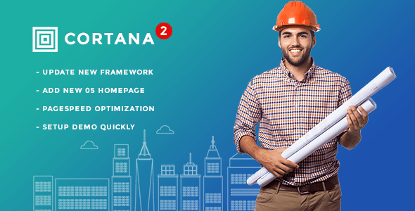 Download Cortana - Building and Construction WordPress Theme Amp WordPress Themes