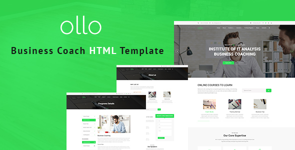 Download ollo - Business & Coaching HTML Template Amp Html Templates