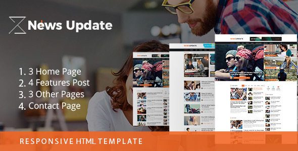 Download News Update || Newspaper Blog Template Newspaper Html Templates