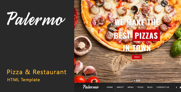 Download Palermo - Pizza & Restaurant HTML Template Restaurant Html Templates