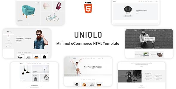 Download Uniqlo - Minimalist eCommerce Template Ecommerce Joomla Templates