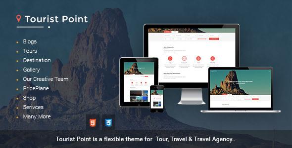 Download TouristPoint travel & tourism Travel Advisor html template Travel Html Templates