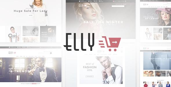 Download Elly - Multipurpose Responsive WooCommerce WordPress Theme Black WordPress Themes