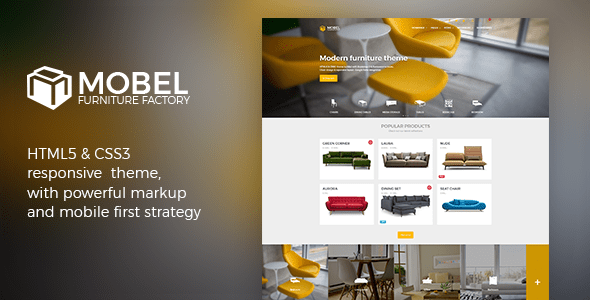 Download Mobel - Furniture Website Template Interior Html Templates
