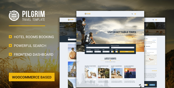 Download Pilgrim — Travel Booking WordPress Theme Travel WordPress Themes