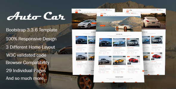 Download Auto Car - Car Dealer HTML Template Car Html Templates