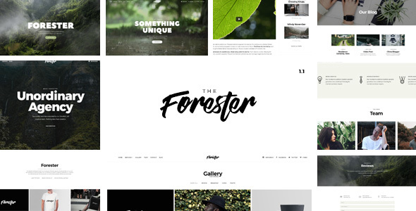 Download The Forester - Responsive Multipages and Onepage Multi-Purpose Joomla! Template Blog Joomla Templates