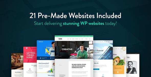 Download The Core - Multi-Purpose WordPress Theme Coming Soon WordPress Themes