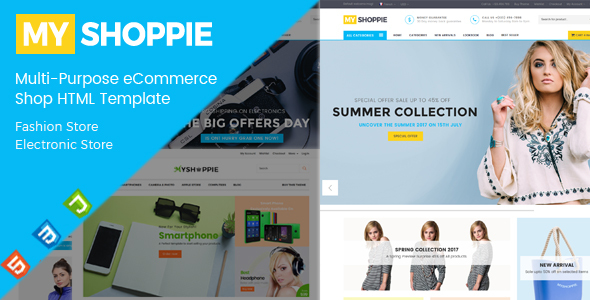 Download MyShoppie - Multi-Purpose eCommerce Shop HTML Template Furniture Html Templates