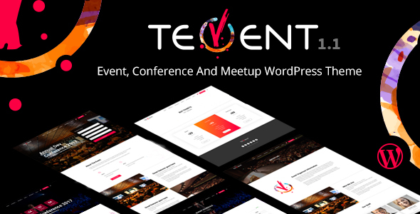 Download Tevent - Conference & Event WordPress Theme Event WordPress Themes