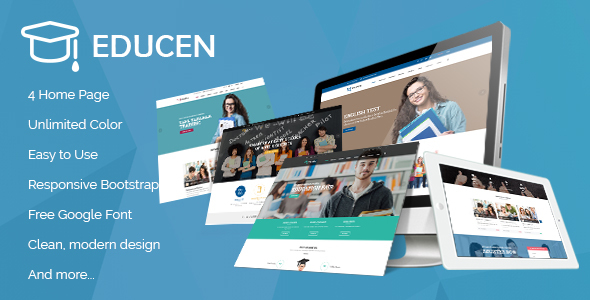 Download Educen - Education WordPress Theme Education WordPress Themes