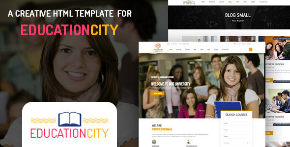 Download Education City – Education HTML Template University Html Templates