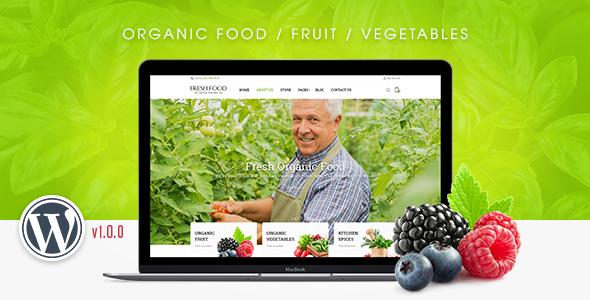 Download FreshFood - Multi Store Responsive WordPress Theme Store WordPress Themes