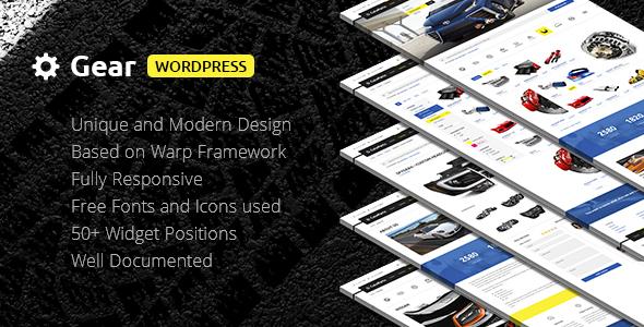 Download Gear — Automotive, Cars, Vehicle, Boat Dealership, Classifieds WordPress Theme Automotive WordPress Themes