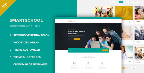 Download Smartschool - Education WordPress Theme Education WordPress Themes