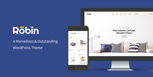 Download Robin - A Furniture WooCommerce WordPress Theme Woocommerce WordPress Themes