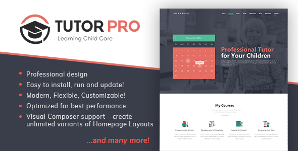 Download TutorPro - Education WordPress Theme Education WordPress Themes