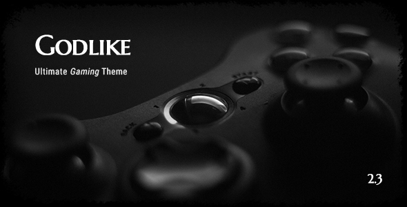 Download Godlike - Game Theme for WordPress Game WordPress Themes