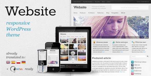 Download Website - Responsive WordPress Theme Responsive WordPress Themes