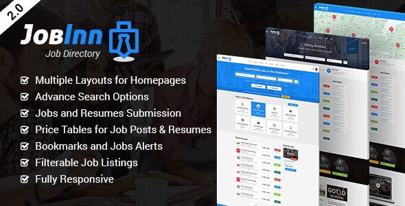 Download JobInn - Job Board & Directory HTML Template Directory Html Templates