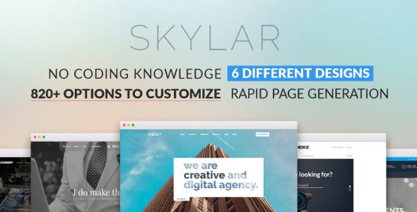 Download Skylar - Fast, Optimized & Highly Customizable Multi-Purpose WordPress Theme Fast WordPress Themes