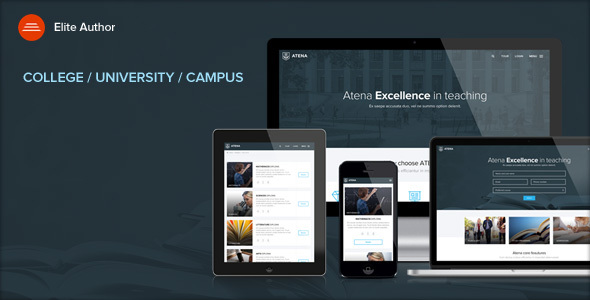 Download ATENA - College, University and Campus WordPress Theme University WordPress Themes