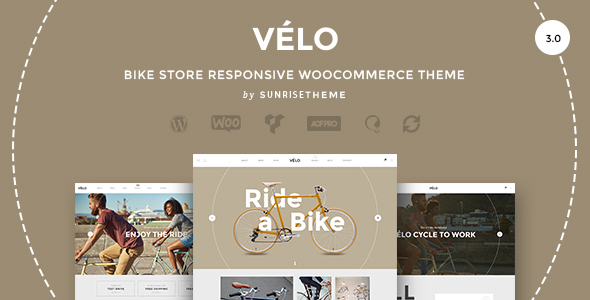 Download Velo - Bike Store Responsive Business Theme Store Blogger Templates