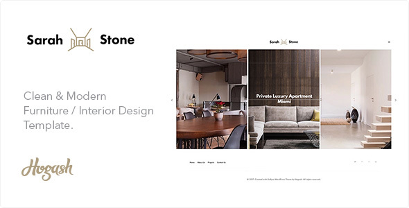 Download SarahStone furniture HTML template Furniture Html Templates