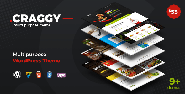 Download Craggy - Restaurant, Fast Food, Craft Beer and Services Multipurpose WordPress Theme Fast WordPress Themes