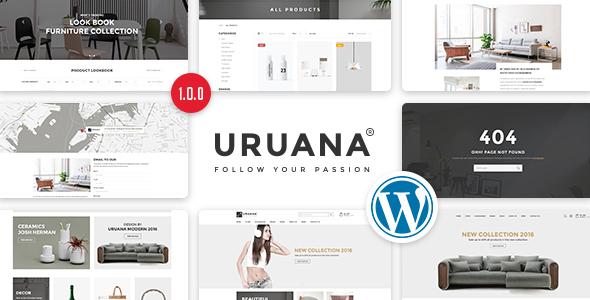 Download Uruana - Multi Store Responsive WordPress Theme Store WordPress Themes