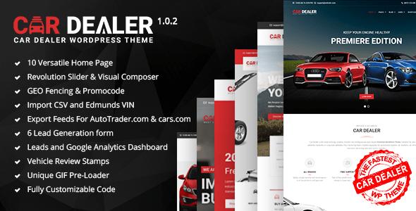 Download Car Dealer - The Best Car Dealer Automotive Responsive WordPress Theme Automotive WordPress Themes