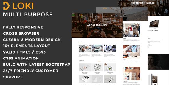 Download Loki - Multipurpose WordPress Theme Coming Soon WordPress Themes