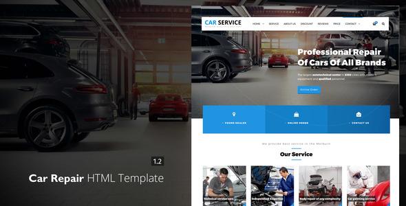 Download Avados - Car Repair HTML template Car Html Templates