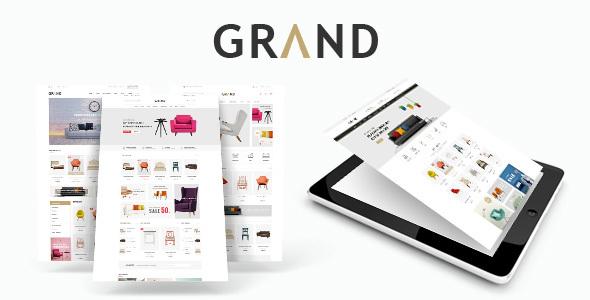 Download Grand - Responsive Furniture WooCommerce WordPress Theme Furniture WordPress Themes